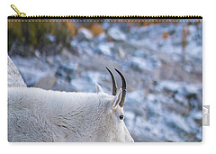 Enchantments Local Goat Resident Carry-all Pouch by Mike Reid