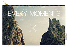 Enjoy Life Every Momens Carry-all Pouch by Mark Ashkenazi