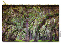 Evergreen Carry-all Pouch by Karen Wiles