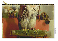 Falcon Carry-all Pouch by Sir Edwin Landseer
