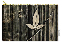 Fallen Leaf Carry-all Pouch by John Edwards