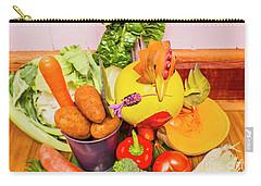 Farm Fresh Produce Carry-all Pouch by Jorgo Photography - Wall Art Gallery
