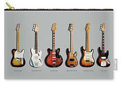 Fender Guitar Collection Carry-all Pouch by Mark Rogan