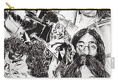 Festival Icons Carry-all Pouch by Vincent Alexander Booth
