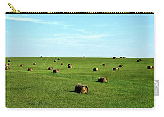 Fields Of Green Carry-all Pouch by Mark Mickelsen