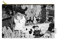 First Lady Eleanor Roosevelt And Santa Carry-all Pouch by Science Source