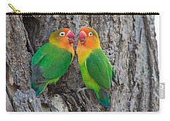 Fischers Lovebird Agapornis Fischeri Carry-all Pouch by Panoramic Images