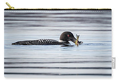 Fish For Lunch Carry-all Pouch by Bill Wakeley