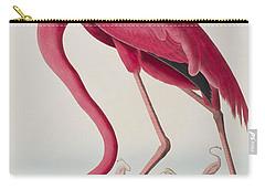Flamingo Carry-all Pouch by John James Audubon