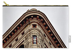 Flatiron Building Detail Carry-all Pouch by Sandy Taylor