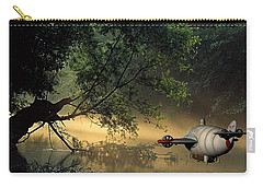 Flight 777 On Time Carry-all Pouch by Marvin Blaine
