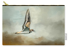 Flight Of The Killdeer Carry-all Pouch by Jai Johnson