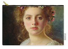Flora Carry-all Pouch by Gustave Jacquet