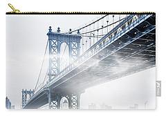 Fog Under The Manhattan Carry-all Pouch by Az Jackson