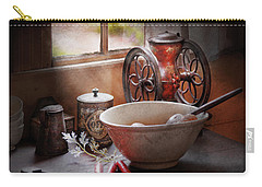 Food - The Morning Chores Carry-all Pouch by Mike Savad
