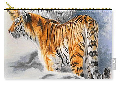 Forceful Carry-all Pouch by Barbara Keith