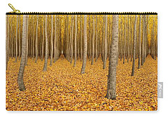 Forest Corridors Carry-all Pouch by Adele Buttolph
