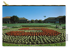 Formal Garden At The University Campus Carry-all Pouch by Panoramic Images