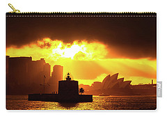 Fort Denison Carry-all Pouch by Petar Belobrajdic