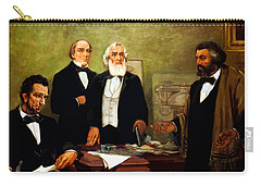 Frederick Douglass Appealing To President Lincoln Carry-all Pouch by War Is Hell Store