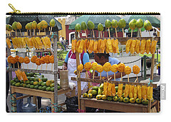 Fruit Stand Antigua  Guatemala Carry-all Pouch by Kurt Van Wagner