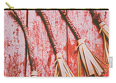 Gathering Of Evil Witches Still Life Carry-all Pouch by Jorgo Photography - Wall Art Gallery