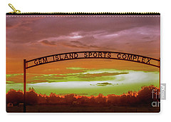 Gem Island Sports Complex Carry-all Pouch by Robert Bales