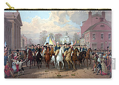 General Washington Enters New York Carry-all Pouch by War Is Hell Store