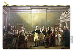 General Washington Resigning His Commission Carry-all Pouch by War Is Hell Store