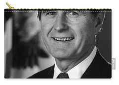 George Bush Sr Carry-all Pouch by War Is Hell Store
