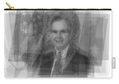 George H. W. Bush Carry-all Pouch by Steve Socha