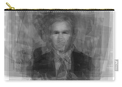 George W. Bush Carry-all Pouch by Steve Socha