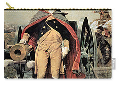 George Washington At Dorchester Heights Carry-all Pouch by Emanuel Gottlieb Leutze