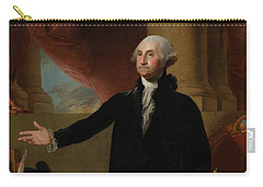 George Washington Lansdowne Portrait Carry-all Pouch by War Is Hell Store