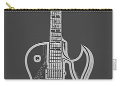 Gibson Es-175 Electric Guitar Tee Carry-all Pouch by Edward Fielding