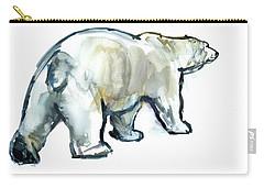 Glacier Mint Carry-all Pouch by Mark Adlington