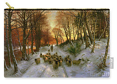 Glowed With Tints Of Evening Hours Carry-all Pouch by Joseph Farquharson