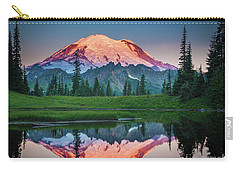 Glowing Peak - August Carry-all Pouch by Inge Johnsson