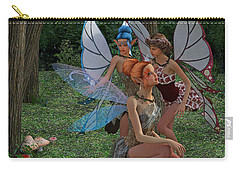 Go Ask Alice Carry-all Pouch by Betsy Knapp