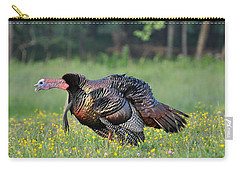 Gobble Gobble Carry-all Pouch by Todd Hostetter