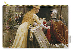 God Speed Carry-all Pouch by Edmund Blair Leighton