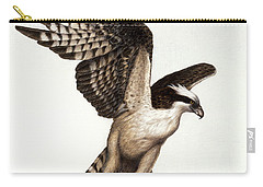 Going Fishin' Osprey Carry-all Pouch by Pat Erickson