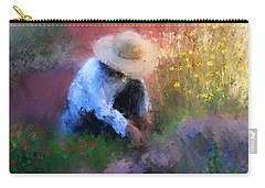 Golden Light Carry-all Pouch by Colleen Taylor