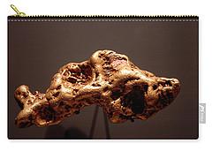 Golden Nugget Carry-all Pouch by LeeAnn McLaneGoetz McLaneGoetzStudioLLCcom