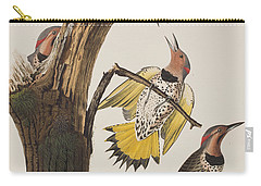 Golden-winged Woodpecker Carry-all Pouch by John James Audubon