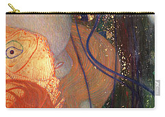 Goldfish Carry-all Pouch by Gustav Klimt