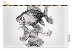 Goldfish Carry-all Pouch by Sarah Batalka