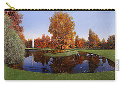 Golf  Cherasco Carry-all Pouch by Guido Borelli