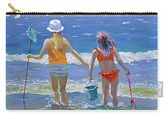 Gone Fishing  Carry-all Pouch by William Ireland