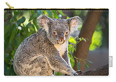 Good Morning Koala Carry-all Pouch by Jamie Pham